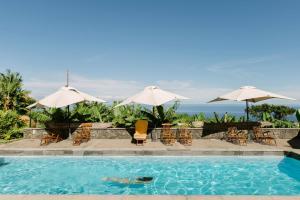 The swimming pool at or near El Patio de Tita