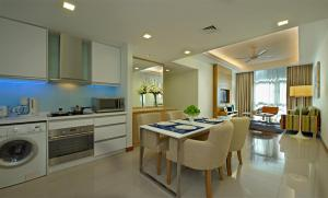 A kitchen or kitchenette at Fraser Place Kuala Lumpur