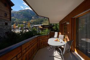 Ein Balkon oder eine Terrasse in der Unterkunft Haus Bor