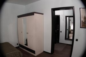 Кровать или кровати в номере Квартира у Кремля.