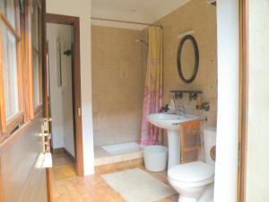 Salle de bains dans l'établissement Au Bon Séjour