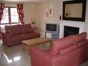 Zona d'estar a Pairc Na Gloine Holiday Homes
