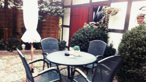 A porch or other outdoor area at Appartementhaus Klingebiel