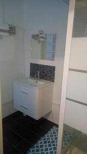 Salle de bains dans l'établissement Studio du Devorah