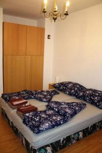 Postel nebo postele na pokoji v ubytování Ubytování Markéta