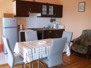 A kitchen or kitchenette at Apartments Ivanisevic