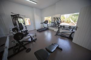 The fitness center and/or fitness facilities at The Beach Star Ibiza - Adults Only