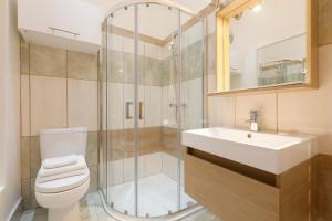 A bathroom at King's Cross Central Apartments