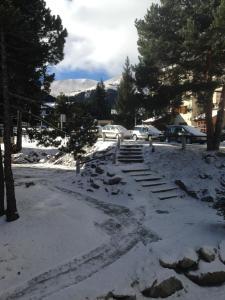Gaudeix De La Cerdanya during the winter