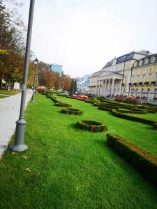 Vrt pred nastanitvijo Apartment Slavica