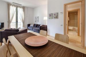 Zona de estar de Habitat Apartments Alibei