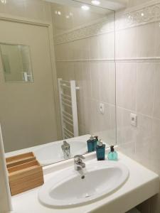 Salle de bains dans l'établissement Appartement Terrasse