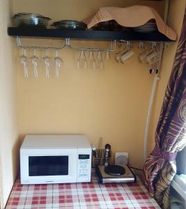 A kitchen or kitchenette at Apartments London54