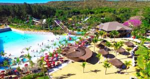 Een luchtfoto van Lacqua diRoma Hotel e Parque - Abd Turismo