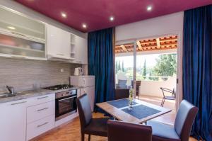 A kitchen or kitchenette at Vila Brasina