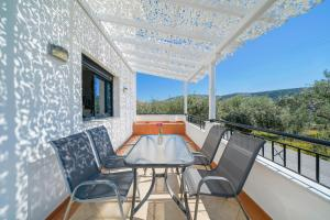 Un balcon sau o terasă la Scandia Villas