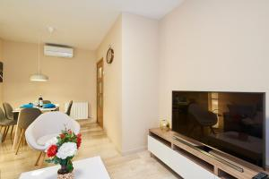 A television and/or entertainment center at Apartamento - Centro Granada