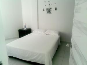 Cama o camas de una habitación en Apartamento Doña Nelly