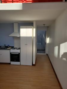 A kitchen or kitchenette at Lugones