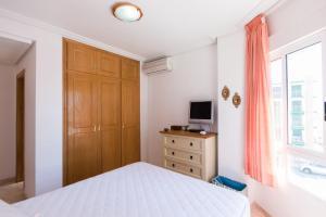 Katil atau katil-katil dalam bilik di Apartment El Drac