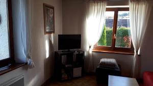A television and/or entertainment center at La Mauselaine