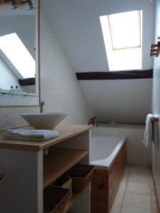 A bathroom at Duplex centre Ville