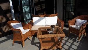 A seating area at Casa Volcanes
