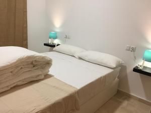 Cama o camas de una habitación en Mirador de Galiana