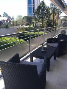 A balcony or terrace at Amplio, moderno y luminoso departamento en la mejor zona de Tigre