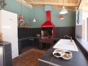 Cuisine ou kitchenette dans l'établissement Villa Bonn Idee