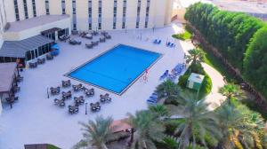 A view of the pool at Bin Majid Acacia Hotel and Apartments or nearby