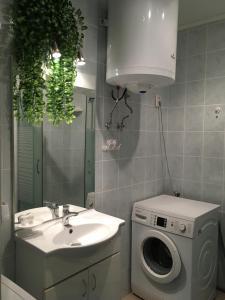 A bathroom at Szabó Mátyás tér
