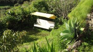 A garden outside El Laurelar encantado