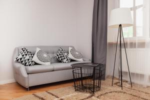 Зона вітальні в Korali Apartment