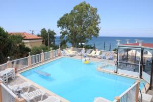 A view of the pool at Noula Studio or nearby