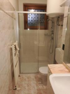 Salle de bains dans l'établissement Angela di Venezia House