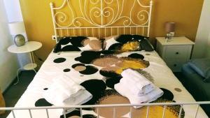 Postelja oz. postelje v sobi nastanitve Pri Meliti