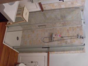 A bathroom at Le Chalet Vue Mont-Blanc