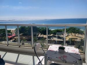 A balcony or terrace at Residencial Green Diamond
