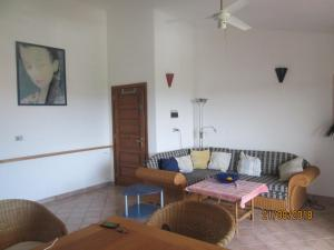 A seating area at Casa Juvele