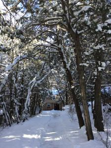 Tewa's Mountain House during the winter