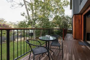 A balcony or terrace at 25 Forestry Road