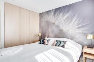 Un ou plusieurs lits dans un hébergement de l'établissement Glamour Porte De Versailles - Parc Des Expo