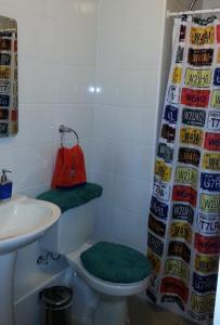 Un baño de Departamento en Pucon