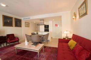 A seating area at Luxurious Liberdade - Lisbon Heart