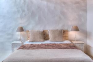 Voodi või voodid majutusasutuse Can Quince de Balafia toas