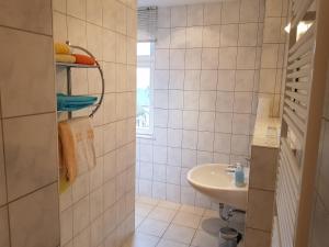 Ein Badezimmer in der Unterkunft Apartments Zum Glasmacher