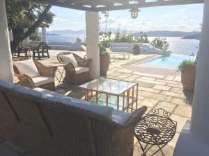 Θέα της πισίνας από το Dream property pool, jacuzzi and sea ή από εκεί κοντά