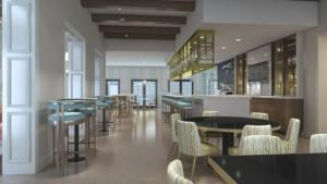 Restaurant ou autre lieu de restauration dans l'établissement EV252113 - Solara Resort - 6 Bed 5 Baths Villa