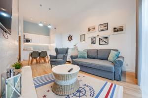 A seating area at Apartamenty Sun & Snow Dwie Sosny